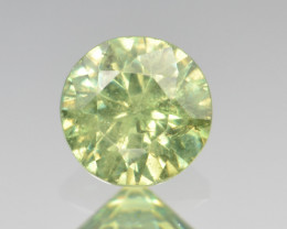 Natural Demantoid Garnet 0.65 Cts, Full Sparkle Faceted Gemstone