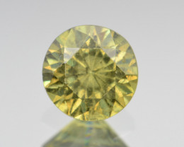 Natural Demantoid Garnet 1.04 Cts, Full Sparkle Faceted Gemstone