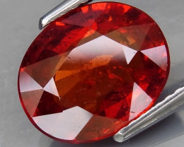 4.51 ct. 100% Natural Orange Spessartite Garnet Africa - IGE Certified