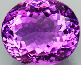 32.97 Ct.  100% Natural Earth Mined Top Quality Rich  Purple  Amethyst  Uru