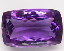 20.63 Ct. Natural Rich Purple Amethyst Uruguay  Unheated