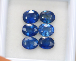 5.42Ct Natural Blue Sapphire Oval Cut Lot A955