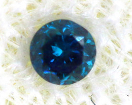 0.04 Cts Blue Diamonds brilliant cut  SD-397