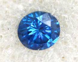 0.06 Cts Blue Diamonds brilliant cut  SD-399