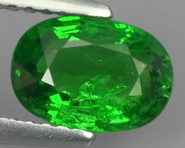 1.30 CTS EXCELLENT NATURAL EARTH MINED RARE HUGE TOP GREEN TSAVORITE GARNET