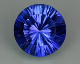 4.20 CTS SUPERIOR! TOP ROUND CUT PURPLE COLOR-TOPAZ GENUINE NR!!