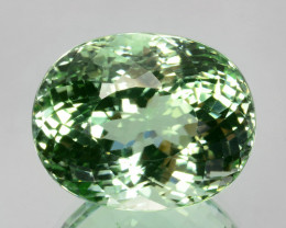 26.64 Cts Natural Tourmaline Beautiful Mint Green Oval Cut Mozambique