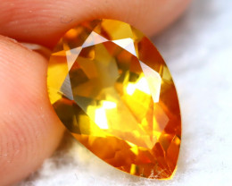 Citrine 2.75Ct Natural Gold Yellow Color Citrine D1911
