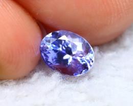 Tanzanite 1.00Ct Natural VVS Purplish Blue Tanzanite D1923