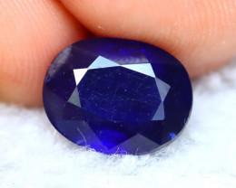 Ceylon Sapphire 3.42Ct Royal Blue Sapphire D1934
