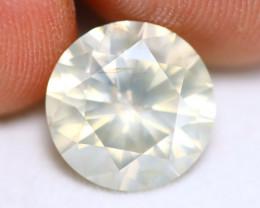 5.38Ct IGI Cert S-T Very Light Brownish Yellow Diamond  Appraisal $25,000