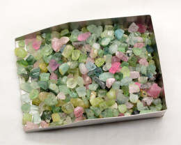 413 Ct Mix Rough Tourmaline From Afghanistan