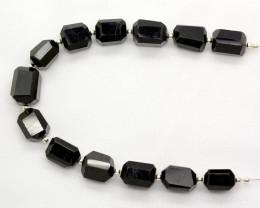 144 CT Beautiful Tourmaline Drill Faceted Beads@Pakistan