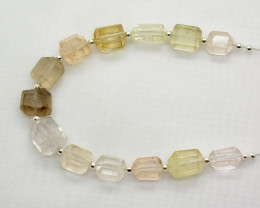 80 CT Beautiful Topaz Drill Faceted Beads@Pakistan