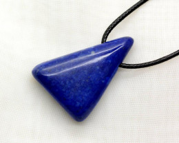 60 CT Beautiful Drill Lapis lazuli pendant From Afghanistan