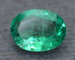 1.17 ct Zambian Emerald Vivid Green Color SKU-30