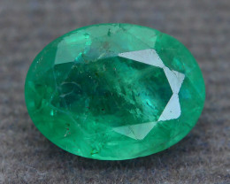 1.48 ct Zambian Emerald Vivid Green Color SKU-30