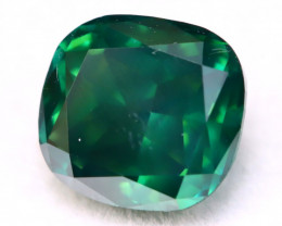 1.35Ct Natural Fancy Vivid Imperial Green Color Diamond A1913