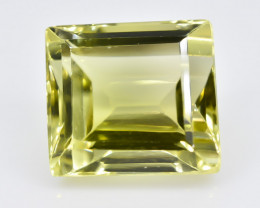 7.73 Crt Lemon Quartz Faceted Gemstone (Rk-82)