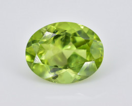 2.33 Crt Peridot Faceted Gemstone (Rk-82)