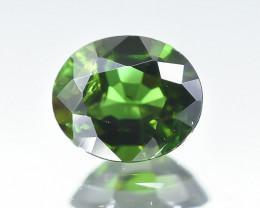 0.81 Crt Natural Chrome Tourmaline Faceted Gemstone.( AB 27)