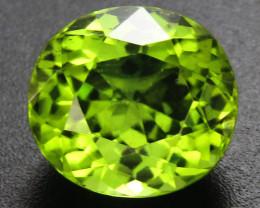Peridot 3.14 ct Commercial Cut Peridot Gemstone