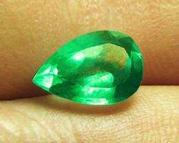 1.51 ct Beautiful Emerald Certified!