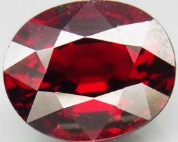 5.95Ct. Natural Top Red Rhodolite Garnet Africa Unheated