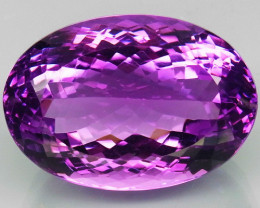 55.30 ct. 100% Natural Top Nice Purple Amethyst Unheated Brazil
