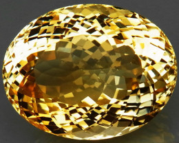 20.14 ct. 100% Natural Unheated Top Yellow Golden Citrine Brazil