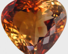 12.77 ct. 100% Natural Topaz Orangey Brown Brazil