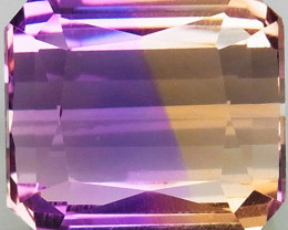15.87 Ct. Natural Bi Color Ametrine Bolivia  Unheated