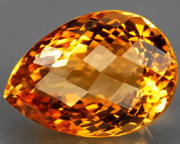 22.83 ct. 100% Natural Unheated Top Quality Yellow Golden Citrine Brazil