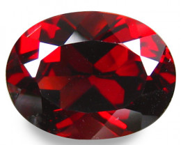 5.21 Ct.100%  Natural Earth Mined Top Quality Red Rhodolite Garnet Africa