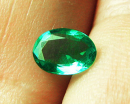 0.93 ct Top Of The Line Emerald Certified!