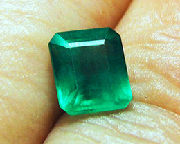 3.09 ct Top Of The Line Emerald Certified!