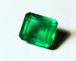 2.74 ct Top Stone  Emerald Certified!