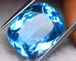 22.06Ct Natural Swiss Blue Topaz Octagon Cut Lot LZ3787