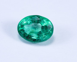 1.36ct Lab Certified Zambian Emerald