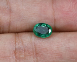 1.43ct Lab Certified Zambian Emerald
