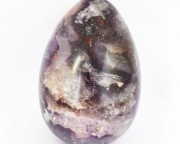 Genuine 1144.00 Cts Purple Amethyst Healing Egg