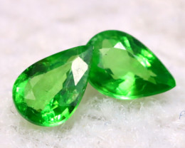Tsavorite 0.81Ct Natural Vivid Green Color Tsavorite Garnet  E2011