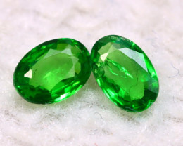 Tsavorite 0.84Ct Natural Vivid Green Color Tsavorite Garnet E2012