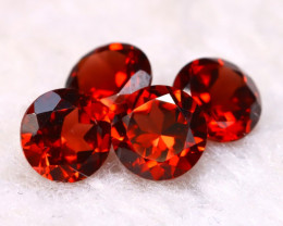 Garnet 2.32Ct 4Pcs Natural Spessartite Garnet E2014