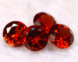 Garnet 2.40Ct 4Pcs Natural Spessartite Garnet E2015