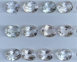 38.59 Carats Topaz Gemstones Parcels