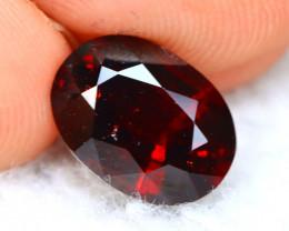 Rhodolite 3.68Ct Natural Red Rhodolite Garnet D2101