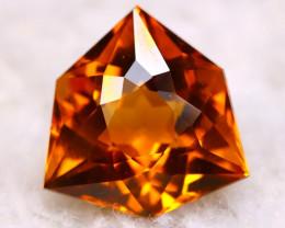 Madeira Citrine 4.07Ct Natural Vivid Golden Orange Color Citrine D2113