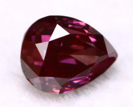 Purple Diamond 0.12Ct Natural Vivid Fancy Purple Red Diamond B2010
