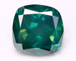 1.23Ct Natural Fancy Vivid Imperial Green Color Diamond B2013